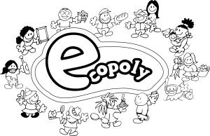 Logo Ecopoly BN peq