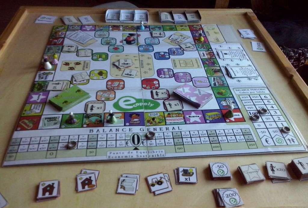 Ecopoly con piezas Diana