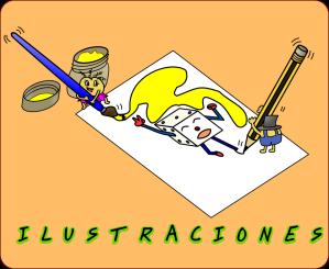 Dibujos e ilustraciones libres usadas en Juega y Aprende