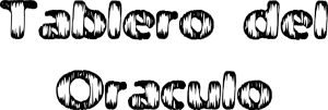Tablero del Oraculo letras