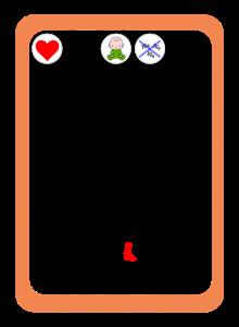 Naipe de acción en el juego