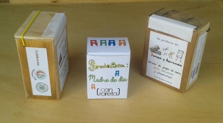 Cajas de madera y una de carton